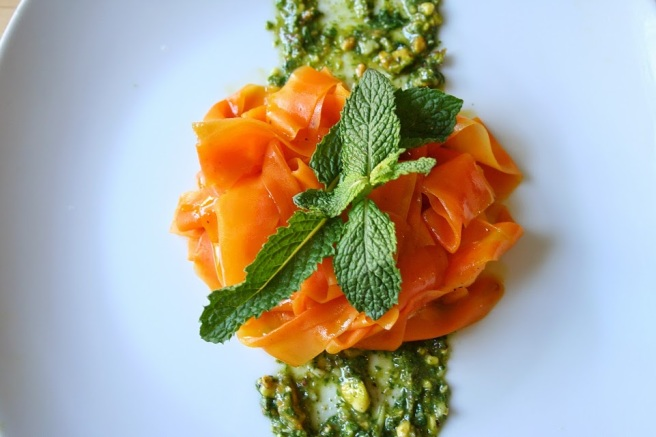 Carrot Salad with Pesto